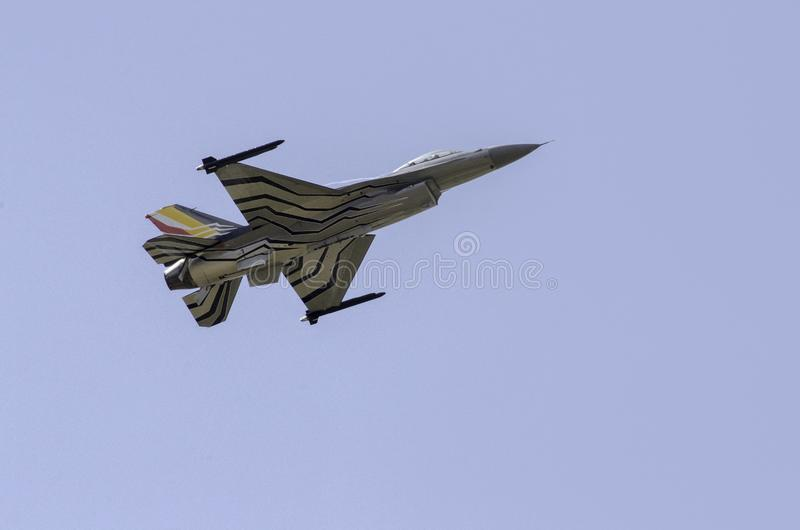 Halcón que lucha F-16 fotos de archivo libres de regalías