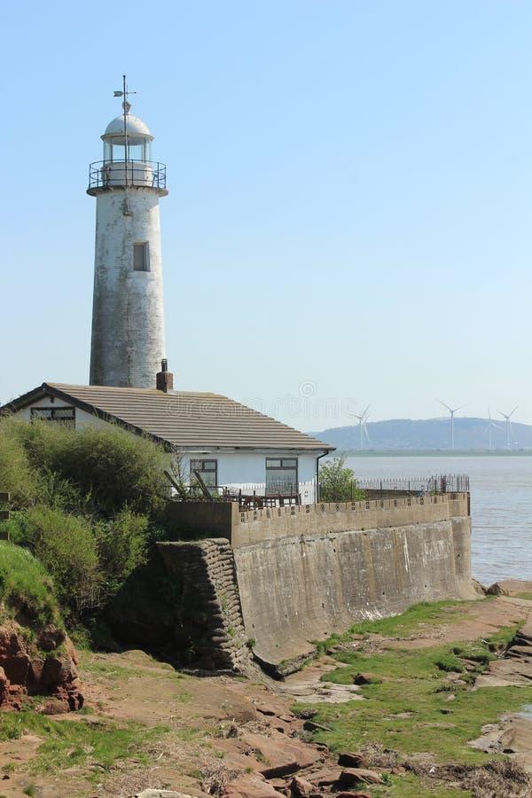 Hale Head Lighthouse, Liverpool, Merseyside images stock