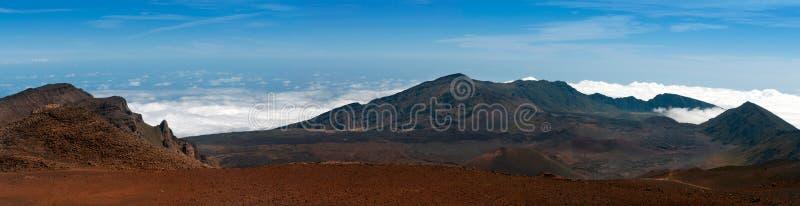 Haleakala火山 库存图片