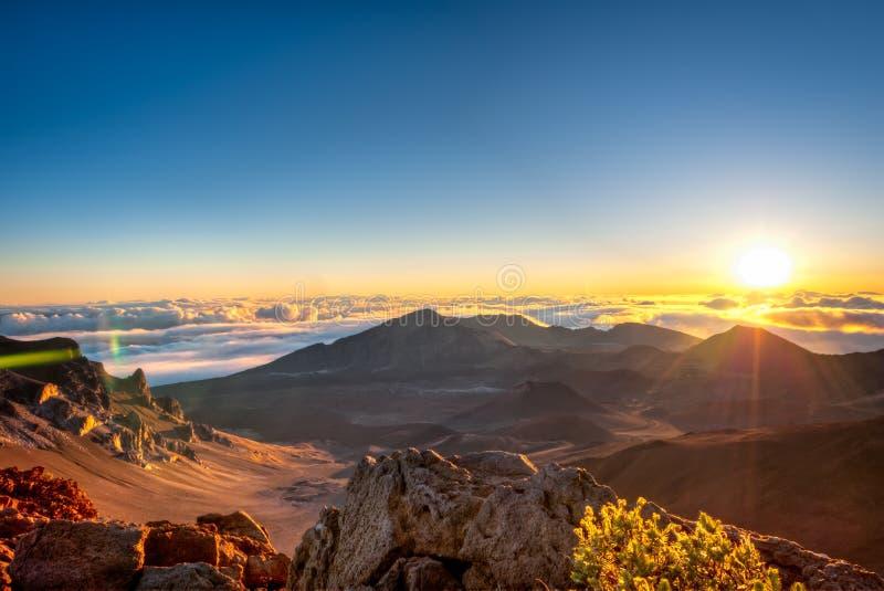 Haleakala - Мауи, Гаваи стоковые фото