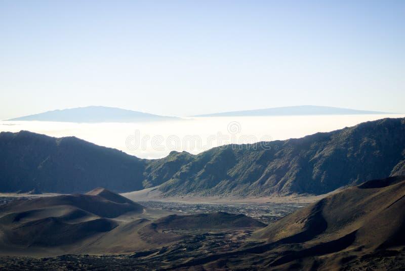 Haleakala - Мауи, Гаваи стоковая фотография