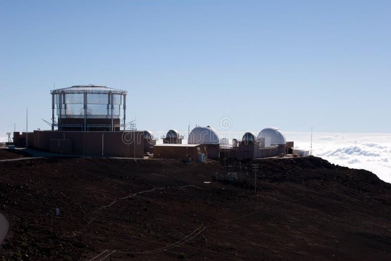 Haleakala Beobachtungsgremium lizenzfreie stockbilder