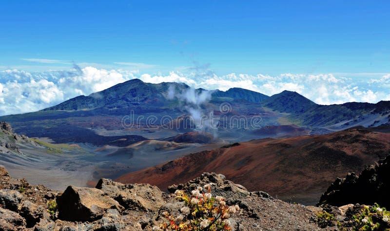 Haleakala Crater royalty free stock photography