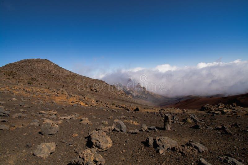 Haleakala-Gipfel lizenzfreie stockfotografie