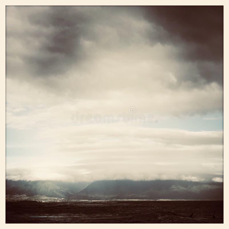 Haleakala linia brzegowa zdjęcia stock