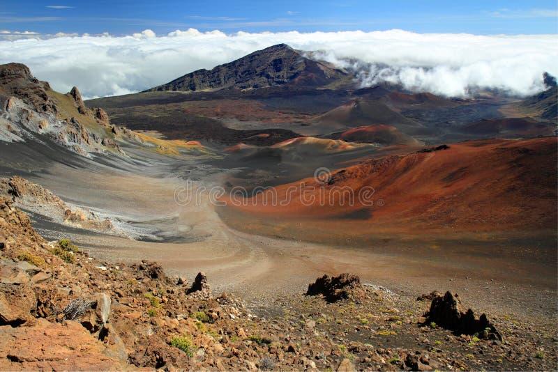 Haleakala, Maui lizenzfreies stockbild