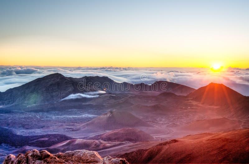 Haleakala - Maui, Havaí imagem de stock royalty free