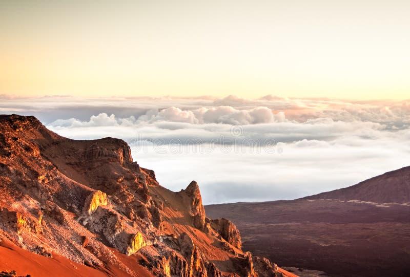 Haleakala - Maui, Hawaï stock foto's