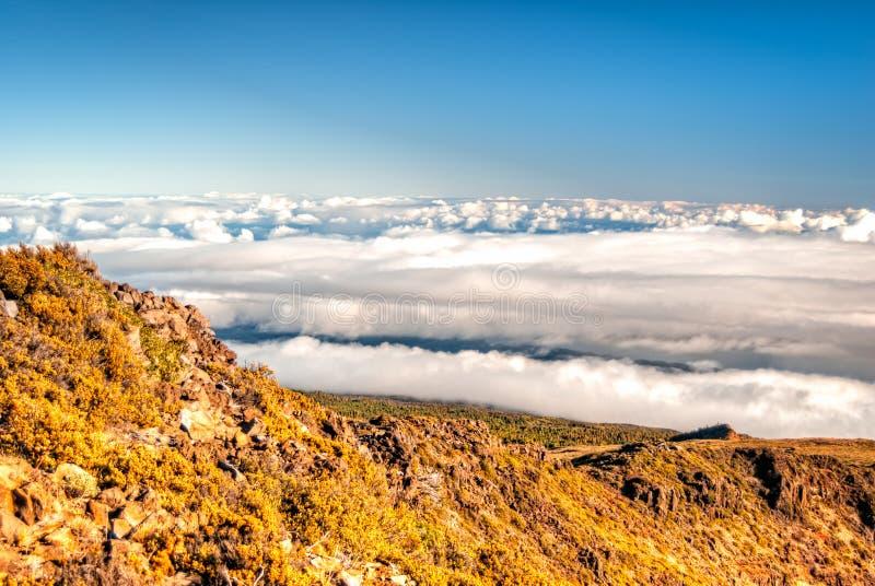 Haleakala - Maui, Hawaï royalty-vrije stock afbeeldingen