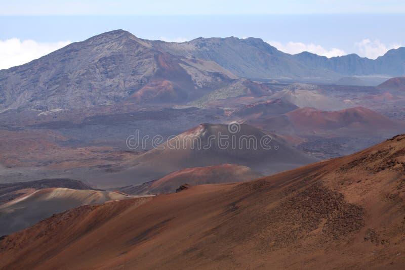 Haleakala Maui stock foto's