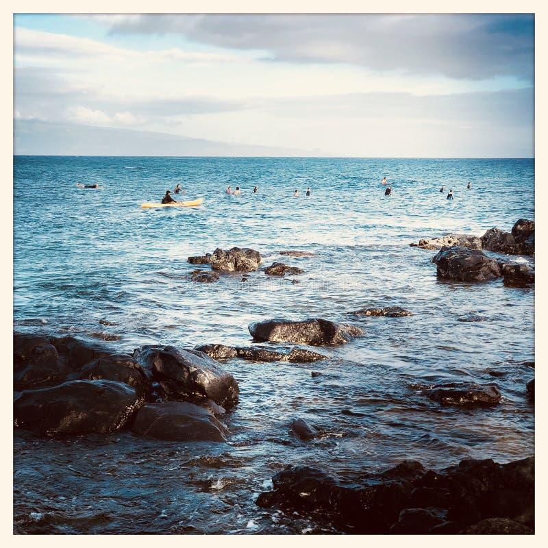 Haleakala plaża zdjęcie stock