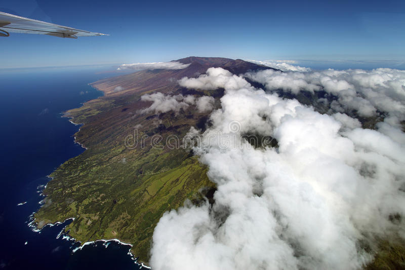 Haleakala Volcano, Maui royalty free stock photos