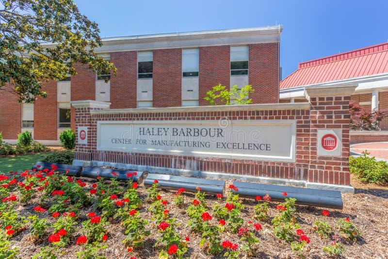 Haley Barbour Center para la excelencia de fabricación foto de archivo libre de regalías