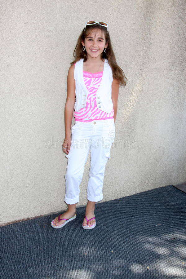 Haley Pullos. Arriving at the General Hospital Fan Club Luncheon at the Airtel Plaza Hotel in Van Nuys, CA on July 18, 2009 royalty free stock image