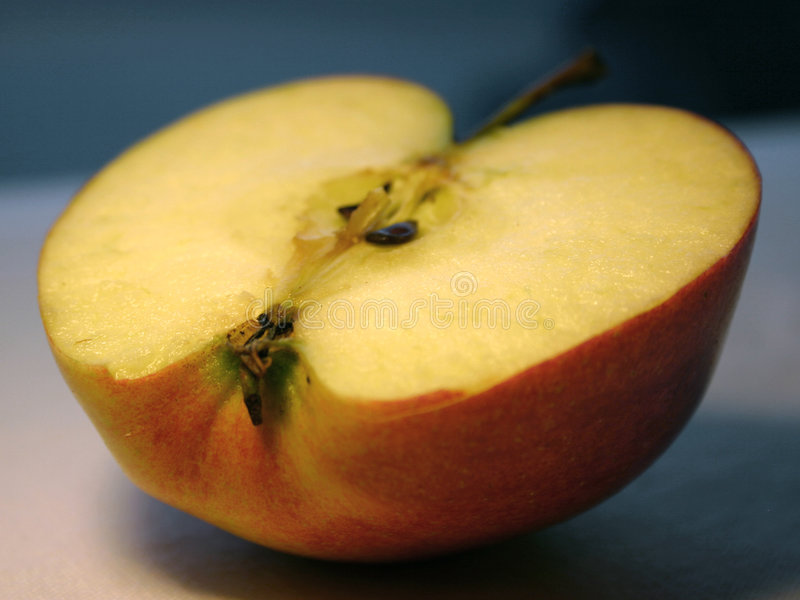 Download Half apple stock photo. Image of juicy, fruit, flesh, detail - 61160