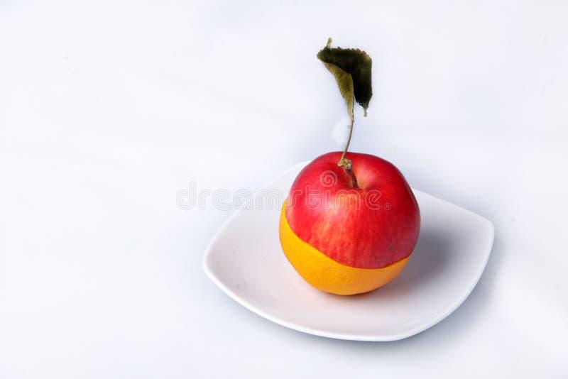 Download Half Apple, Half Orange Stock Images - Image: 4765294
