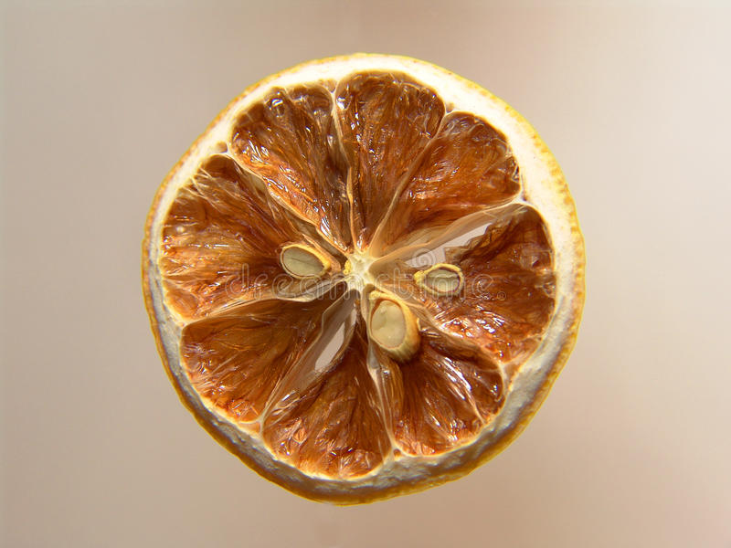 half citron arkivfoto
