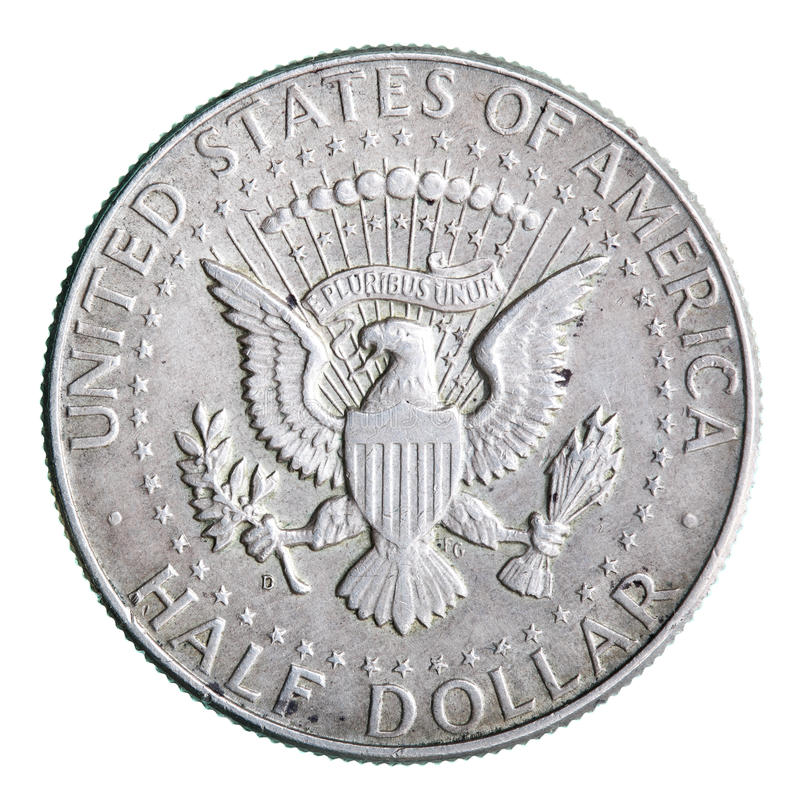 Download Half dollar coin stock photo. Image of metal, background - 9937640