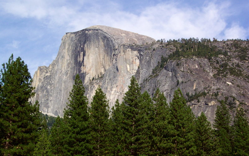 Download Half Dome stock image. Image of geology, landscape, evergreen - 8903