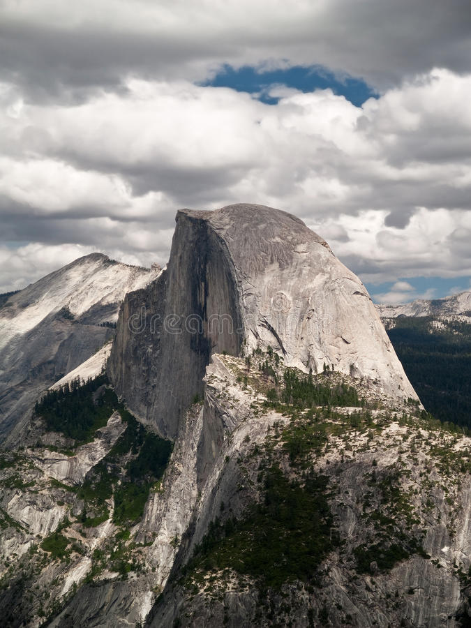 Download Half Dome stock photo. Image of granite, scenic, nature - 16071994