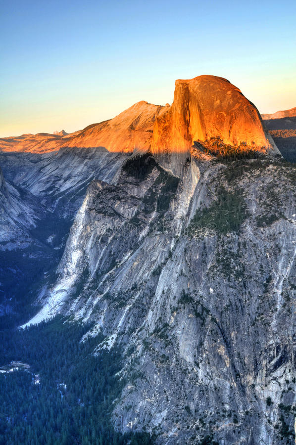 Free Half Dome At Sunset Royalty Free Stock Photos - 16095078