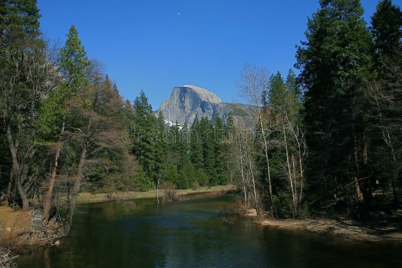 Half Dome with The Merced River