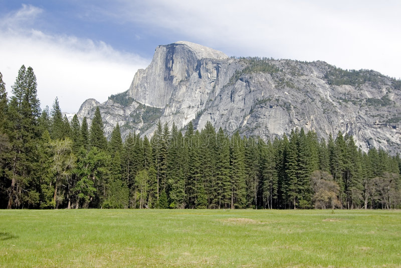 Download Half dome panorama stock photo. Image of parks, rving - 2437542
