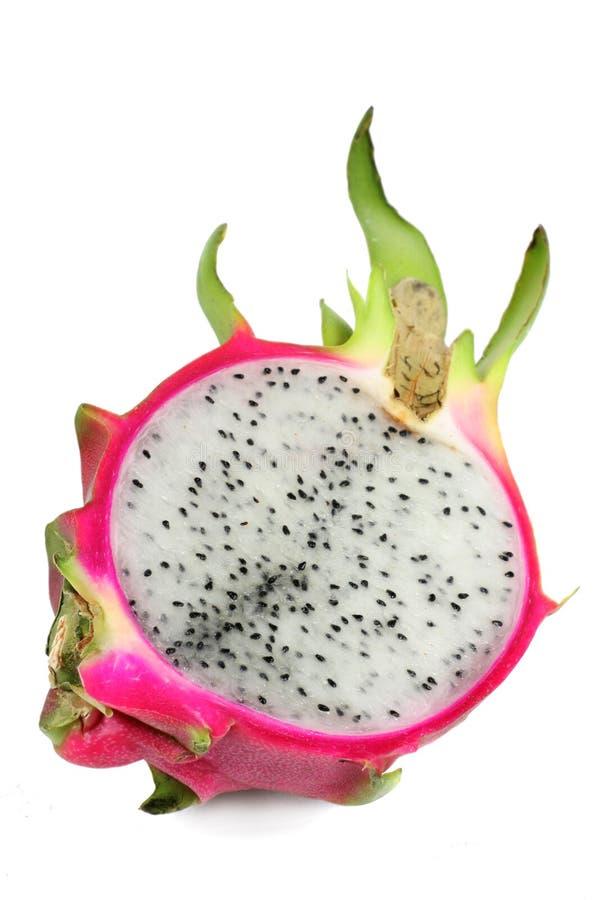 half drakefrukt royaltyfria foton