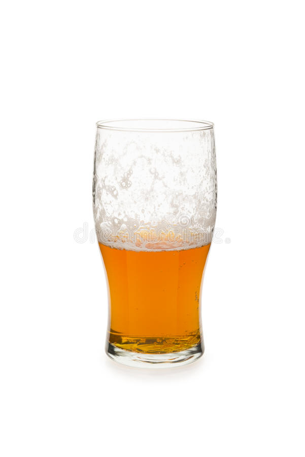 Download Half Empty or Half Full stock photo. Image of beer, cold - 29308350