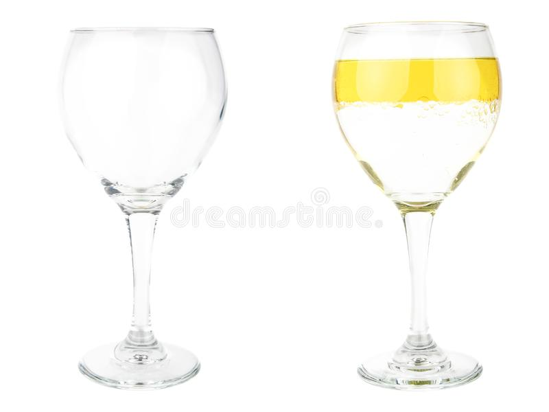 Half Empty Or Half Full stock photo