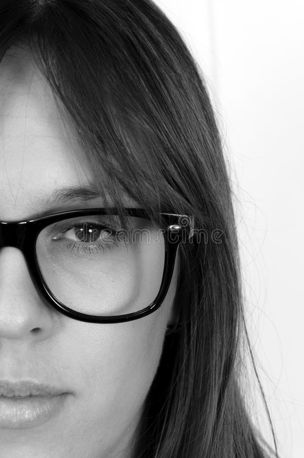 Download Half face stock photo. Image of face, portrait, person - 27138638