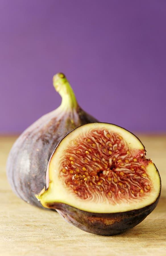 half fig arkivfoto