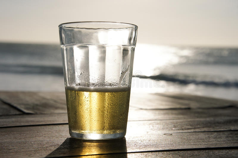 Download Half full stock photo. Image of ocean, empty, there, glass - 20032146