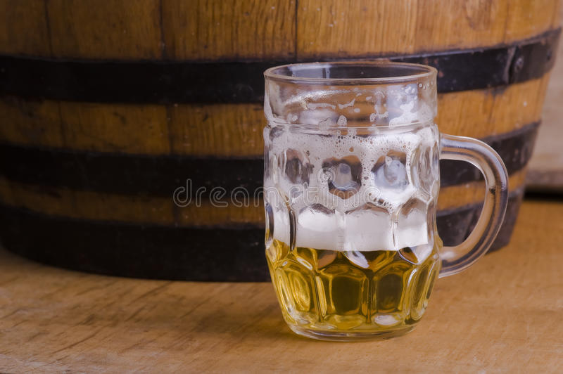 Download Half glass ale stock photo. Image of cold, drought, background - 17787554