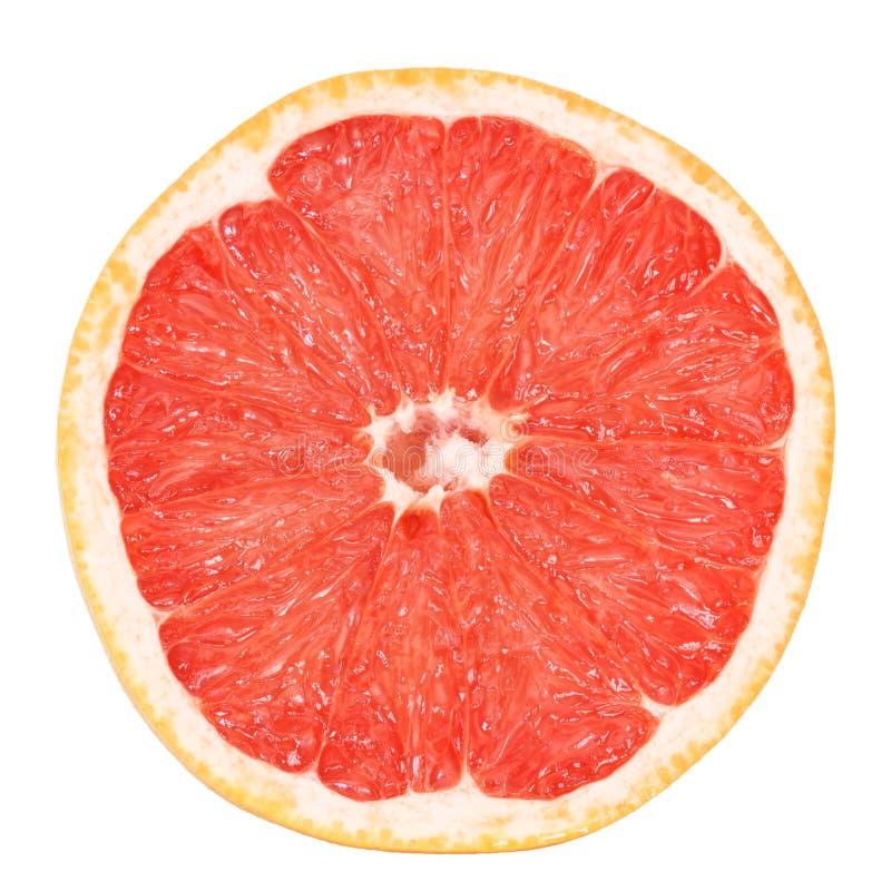 Half grapefruit royalty free stock photos