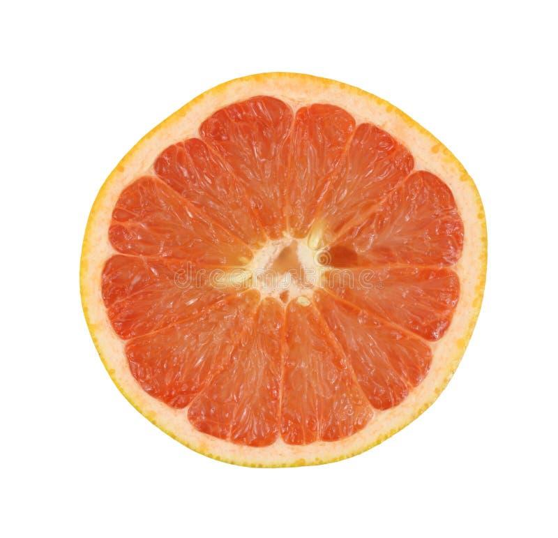 half grapefrukt royaltyfri fotografi