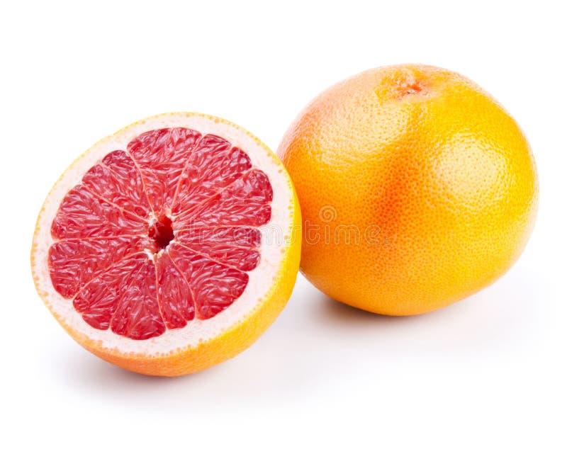 half grapefrukt royaltyfri foto