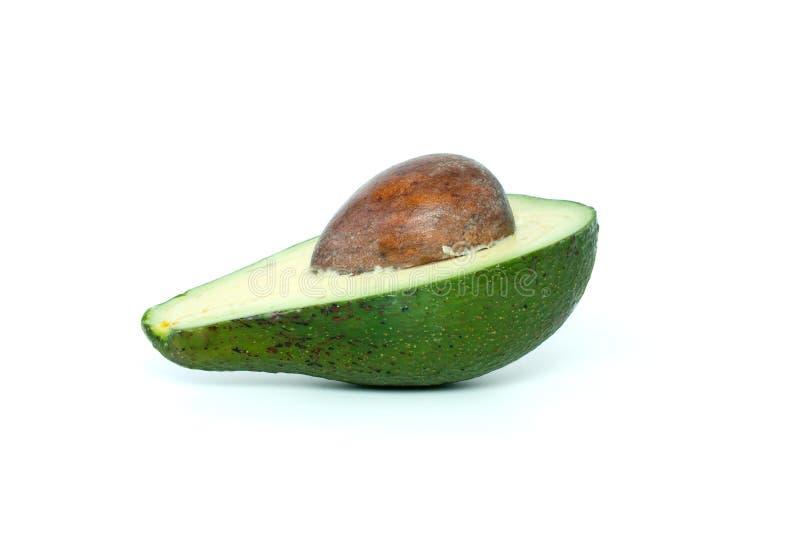 half kernel för avokado fotografering för bildbyråer