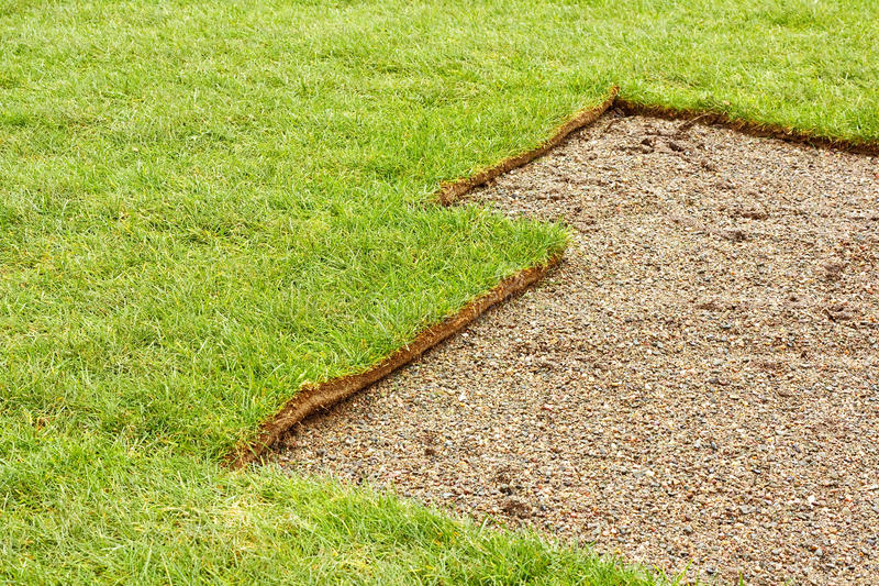 Download Half Layed Turf Royalty Free Stock Photography - Image: 29156167