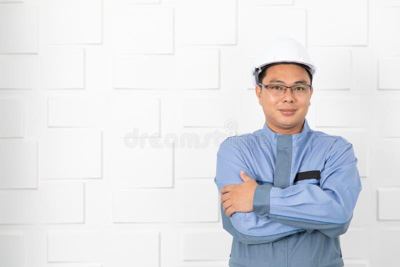 Asian man working royalty free stock photo