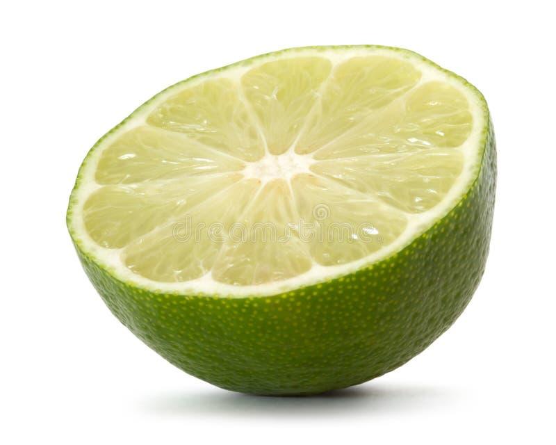 Half lime royalty free stock photos