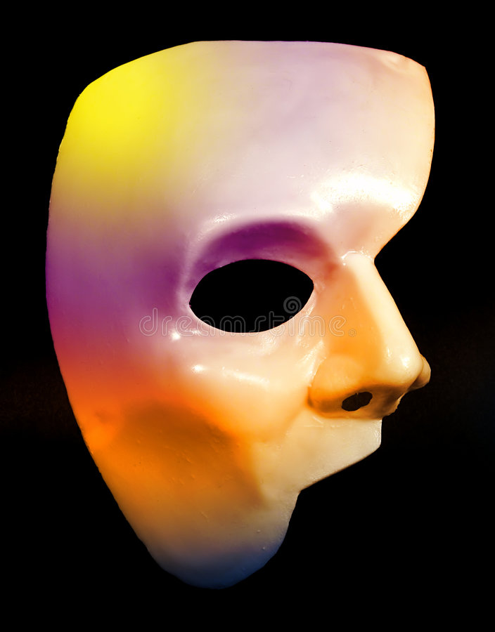 Half Mask stock photography