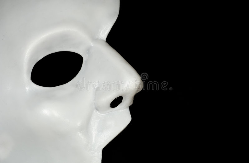 Download Half Mask stock photo. Image of costume, white, fright - 3359230