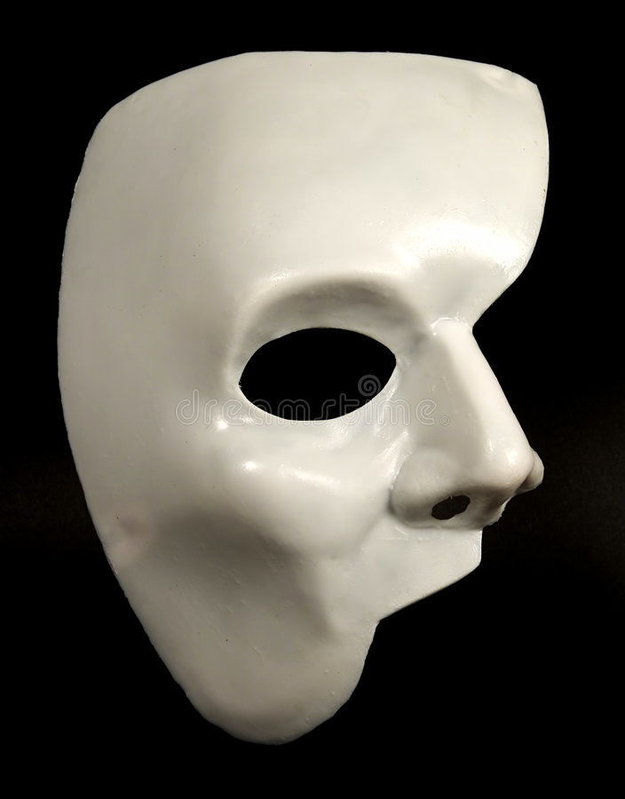Half Masker 2 royalty-vrije stock foto