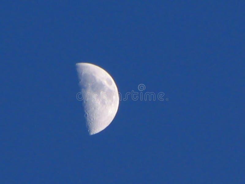 Half moon stock image