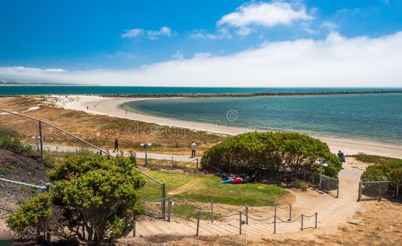 Half Moon Bay Kalifornien skott USA royaltyfri fotografi