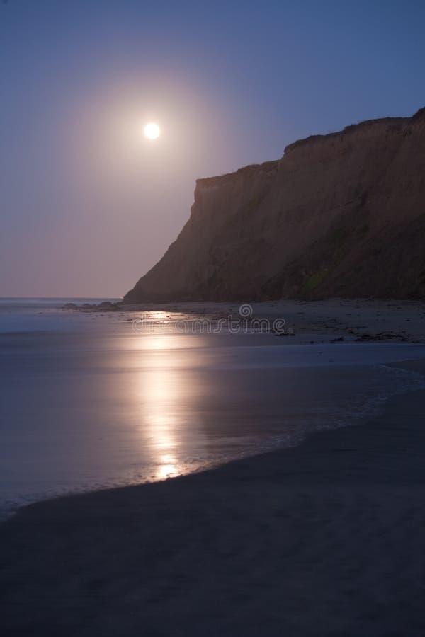 Download Half Moon Bay at Moonset stock photo. Image of tranquil - 23334858