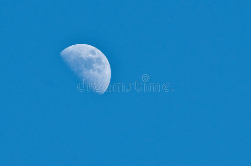 Download Half moon stock photo. Image of lunar, astronaut, impact - 39370766