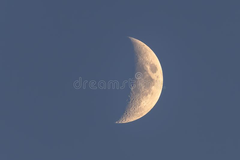 Half moon, England royalty free stock photo