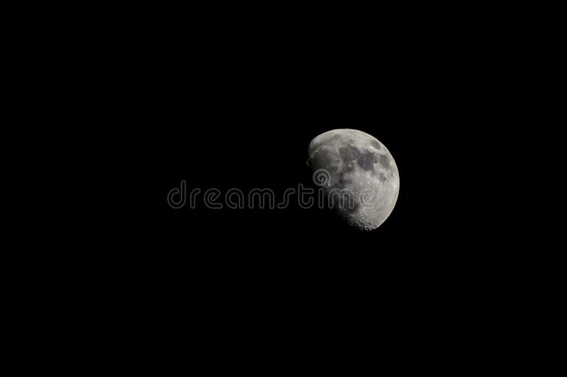 Half Moon royalty free stock photo